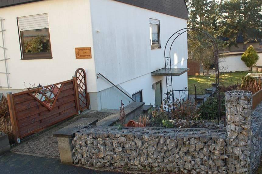 Eingang Ferienwohnung Paul