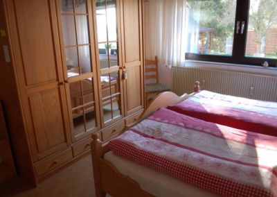 Schlafzimmer - Ferienwohnung Paul