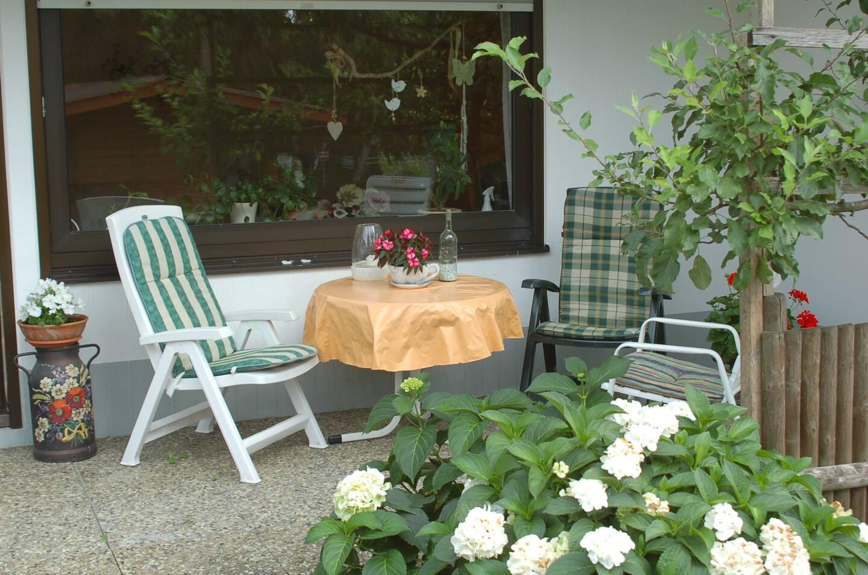 Terrasse - Ferienwohnung Paul